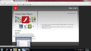 como descargar adobe flash player para windows 7