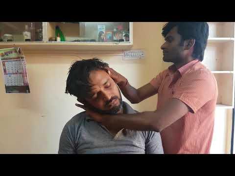 ASMR Roadside Barbershop head massage