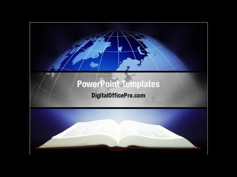 study geography powerpoint template backgrounds - digitalofficepro, Presentation templates