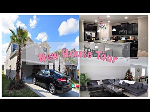 NEW HOUSE TOUR | FLORIDA | Christmas House Decorations | First VLOG 2018 | thisismaejourney