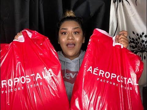$300 Worth of Aeropostale Haul
