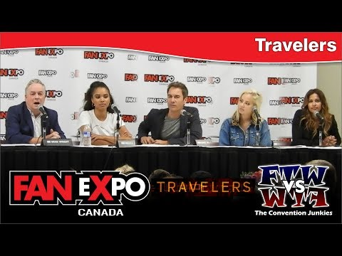 Travelers TV  Cast Q & A   eXpo Canada 2017 Panel