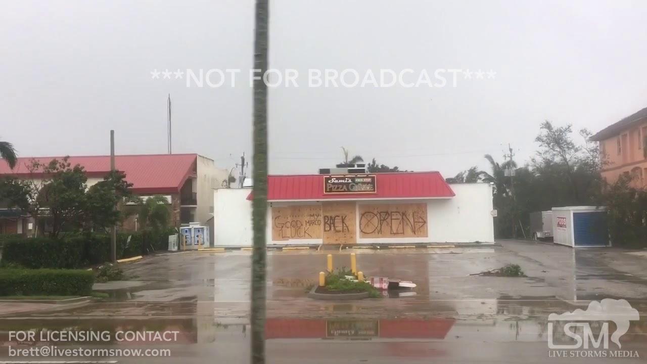 09/10/2017 - Marcos Island, FL - hurricane Irma significant damage ...