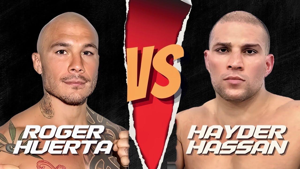 Roger Huerta vs Hayder Hassan Full Fight (MMA)   Phoenix 4 Dubai   December  22nd 2017