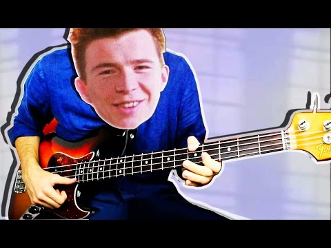 Download Youtube: Never Gonna BASS You Up