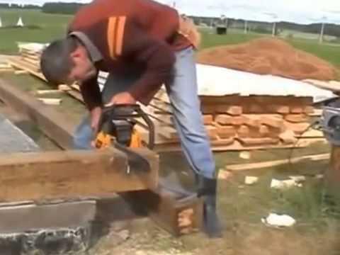 Видео Построить дом из сруба