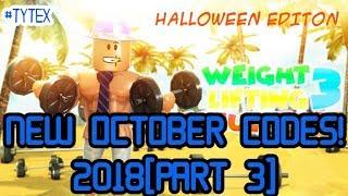 Weight Lifting Simulator 3 [PART 3] | NOVEMBER CODES!! | ROBLOX