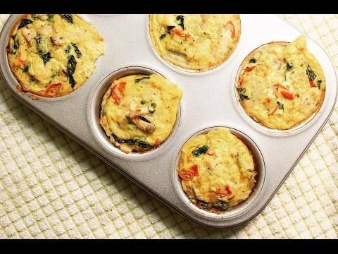 Healthy Breakfast Scrambled Egg Muffins | Здоровые Утренние Омлетные Маффины без регистрации и смс