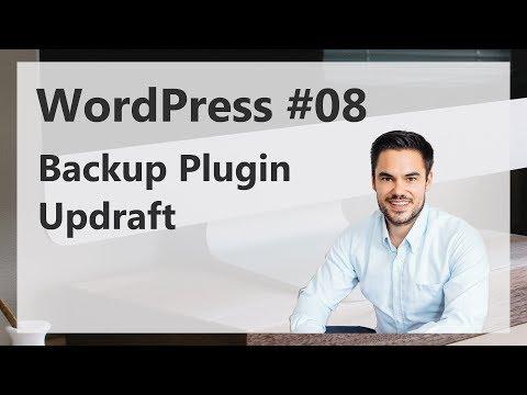 WordPress Backup (kostenlos) Tutorial auf Deutsch / German 2015