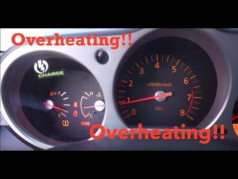 Car overheating! (Nissan 350z)