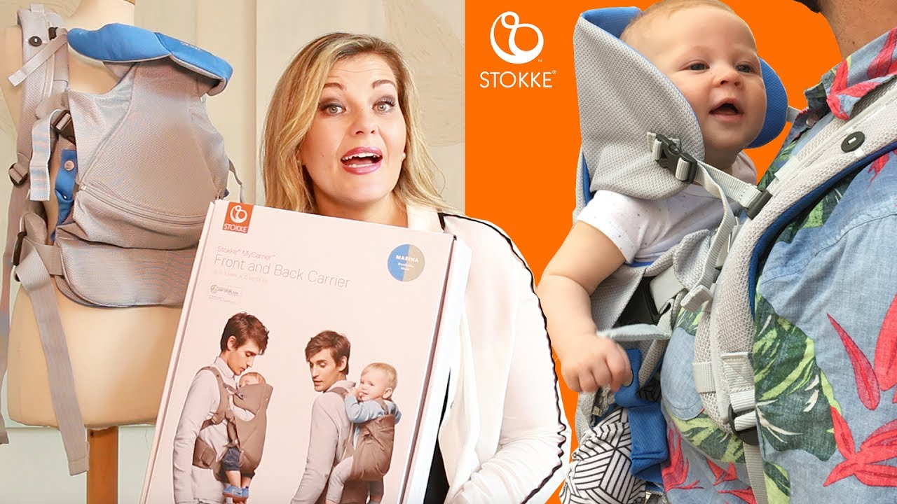 c1a5cbea9c6d Stokke® MyCarrier™   UNBOX, DEMO   REVIEW   3 Position Baby Carrier ...