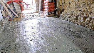 Réaliser une dalle avec du béton prêt à l'emploi