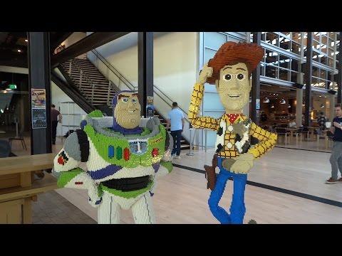 A visit to Pixar headquarters in Emeryville, California