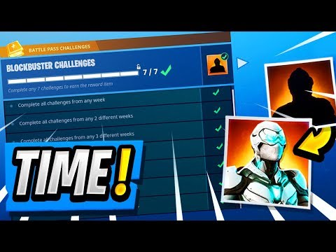 NEW Blockbuster Skin Release Time! | Official Reveal Date! ( Fortnite Challenges )