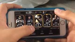 Mortal Kombat X iOS Glitches (No Jailbreak or tool) (Patched as of update on May 27th!!!)