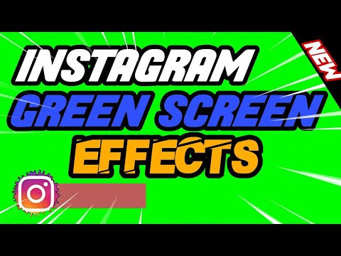 Green Screen İnstagram Effects ! New ! Youtuber Effects !