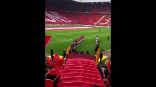 Sir Alex Ferguson last game