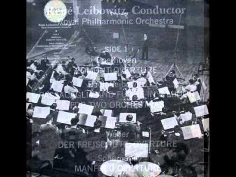 Bach / René Leibowitz, 1960: Passacaglia and Fugue, BWV 582 - Arranged for Two Orchestras