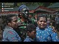 A Touching Atmosphere When The Inauguration Of Papua's Son Became An Army Soldier
