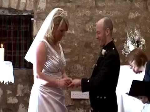 Culcreuch Castle Wedding Highlight