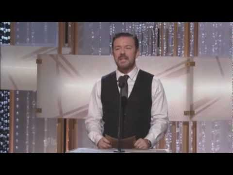 Ricky Gervaiss performance at the Golden Globes offends Jon Stewart