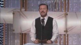 Download Ricky Gervais's performance at the Golden Globes offends Jon Stewart Mp3 and Videos
