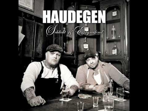 Haudegen- Rot Markiert
