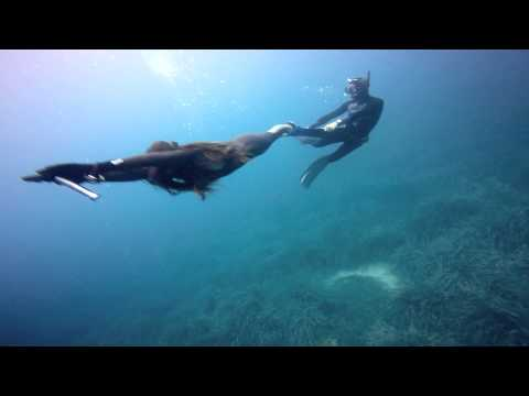free diving fun in Antibes France
