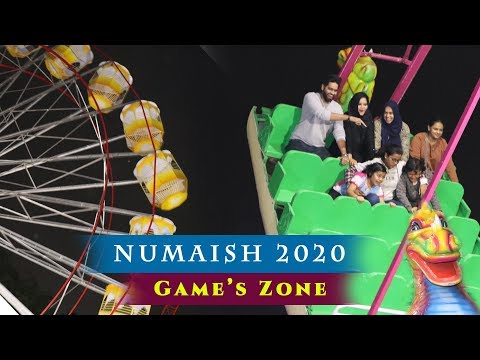 Numaish 2020 | Games at Hyderabad Nampally Exhibition | Nampally Exhibition games