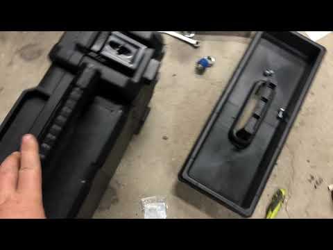 RZR 1000 Rigid Tool Box Lock & Ride