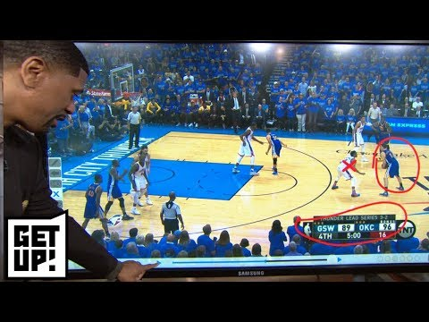 Jalen Rose breaks down how crucial Klay Thompson is for Warriors vs. Rockets Game 7 | Get Up! | ESPN