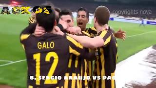 AEK |TOP 10 GOALS 2017| HD
