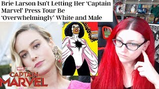 Brie Larson is Captain Marvel's Biggest Enemy!