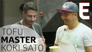 How Tofu Master Koki Sato Makes LA's Best Tofu - Shokunin