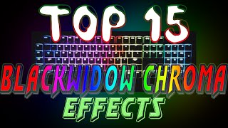 Top 15 Blackwidow Chroma Lighting Effects (With Download)