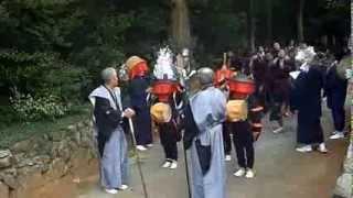愛知県豊川市西原町の進雄神社の祭礼の模様です.