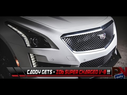 Cadillac CTS-V Supercharged V-8, GM Going Aluminum, Top 5 Fast Fails - PowerNation Daily