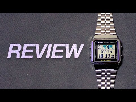 Casio A500WA-1 World Time Watch - Review And Complete Guide
