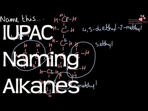 Naming Alkanes Using IUPAC Systematic Nomenclature - Organic Chemistry #1