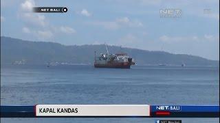 NET. BALI - KAPAL PENUMPANG KANDAS