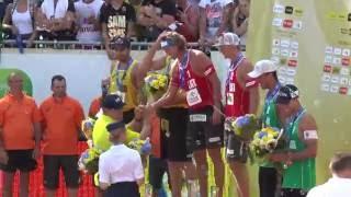 Ceremonia wręczania medali i nagród. Panowie. Grand Slam 2016