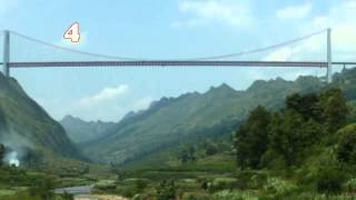 World's Most Amazing Videos - 7 World's Highest Bridges