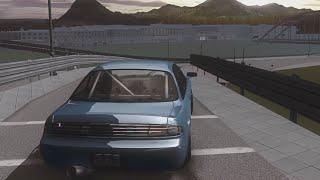[SLRR] Nissan s14 drift-session @Valo