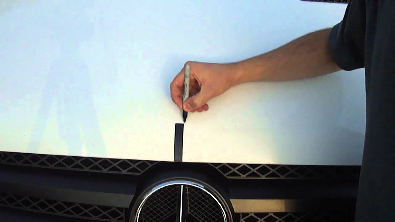 Dodge sprinter hood badge replacement with mercedes benz for Mercedes benz hood replacement