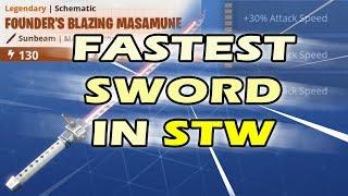 Fastest Sword in Fortnite Giveaway - Perfect Perk Sunbeam Founders Blazing Masamune