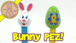 Pez Easter Bunny And Easter Egg Candy Dispensers