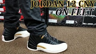 quality design bbcf5 be166 AIR JORDAN 12 CNY REVIEW  amp  ON FEET · DSTAR718 · AIR JORDAN 12 CNY  CHINESE NEW YEAR RETRO SNEAKER UNBOXING ...
