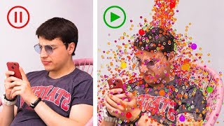 Orbeez Challenge! 13 Pranks And Life Hacks!