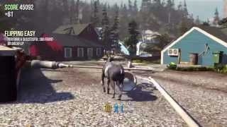 Goat Simulator - PC Gameplay on GTX 760 / i7-4770K