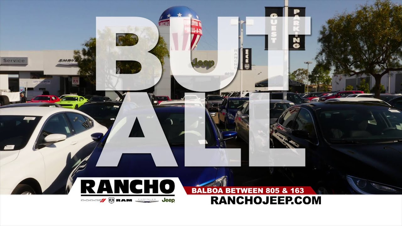 Amazing They Know Rancho. You Should Too! @ Rancho Chrysler Jeep Dodge